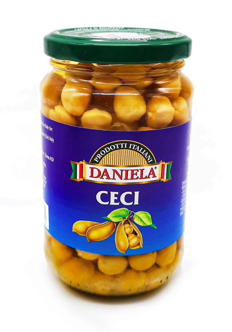 Ceci naturali in barattolo di vetro Daniela Food