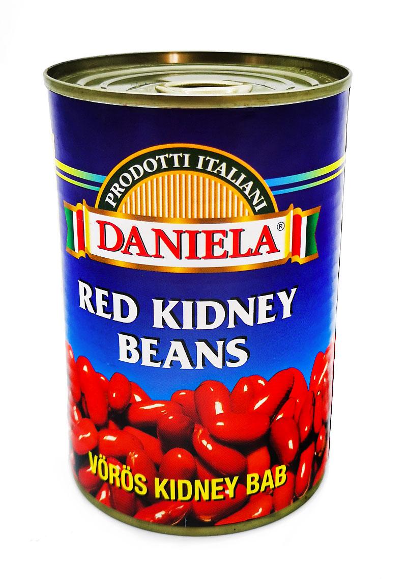 Fagioli rossi in barattolo di latta Red Kidney Daniela Food