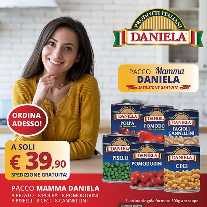 Vendita online promozione prodotti alimentari mamma Daniela