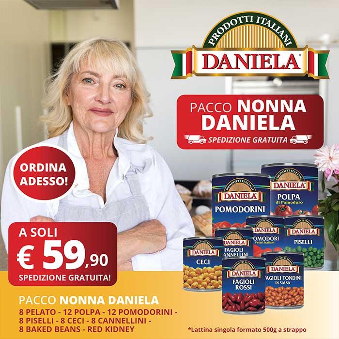 Vendita online promozione prodotti alimentari nonna Daniela