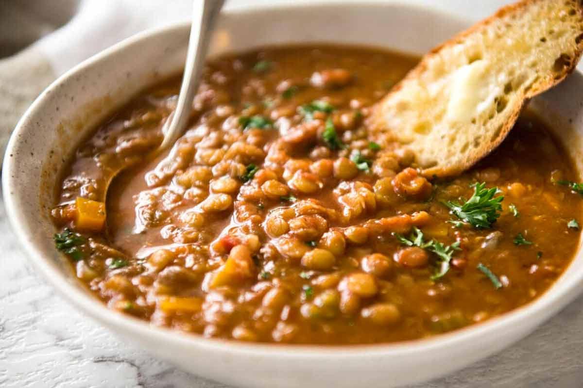 Zuppa Di Lenticchie Ricetta E Preparazione